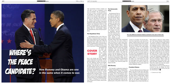 Communicator Newspaper, No. 4 - Inside Spread