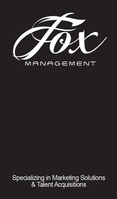 Fox Mgmt Business Card (front)