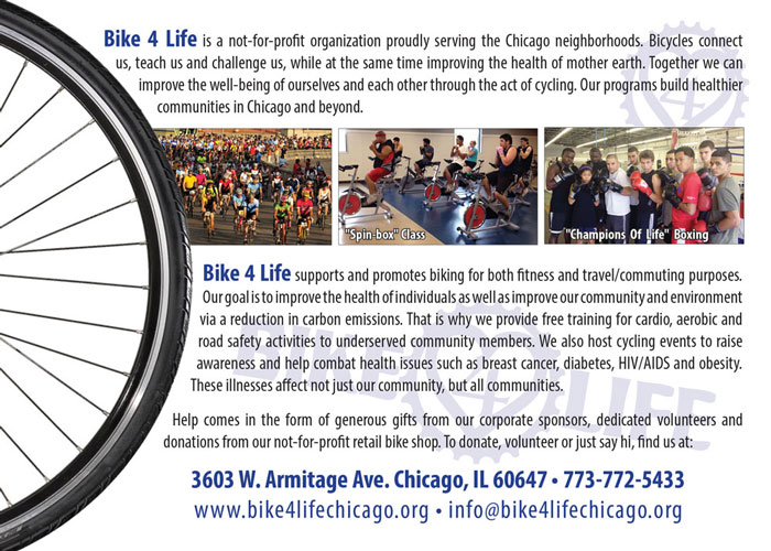 Bike 4 Life - Flyer (back)