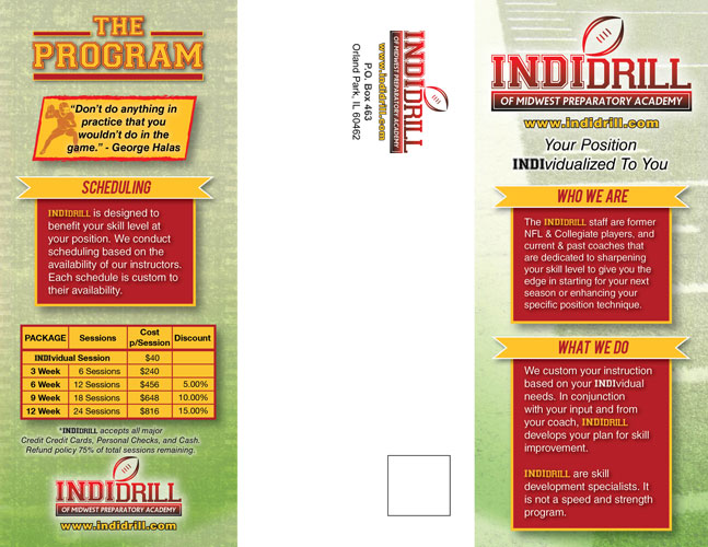 IndiDrill - Brochure (outside)
