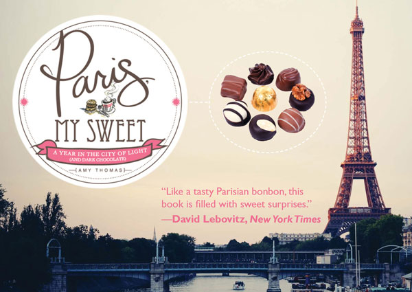 Sourcebooks - Paris My Sweet - POstcard (front)