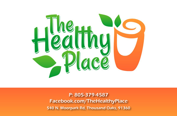The Healthy Place - Flyer (front)